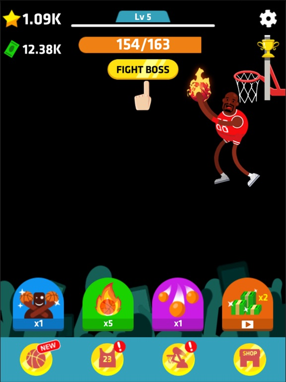 Idle Dunk Masters Скриншоты10