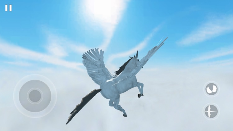 Flying Unicorn Simulator 2021 screenshot-4