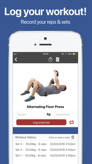 gymster weight lifting diet iphoneアプリ applion
