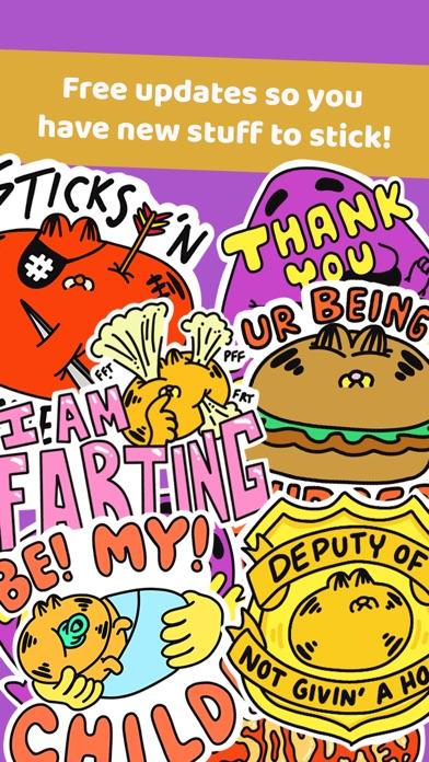 Fat Cats Sticker Pack