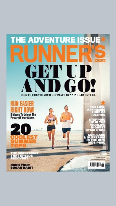 Screenshot for Runner's World UK in Peru App Store