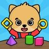 2歳以上の子供向け数字のお勉強ゲーム・幼児向け動物知育パズル - iPadアプリ
