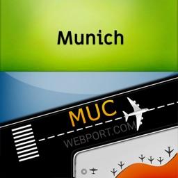 Munich Airport Info + Radar