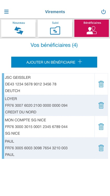 Banque Nuger pour iPhone screenshot-3