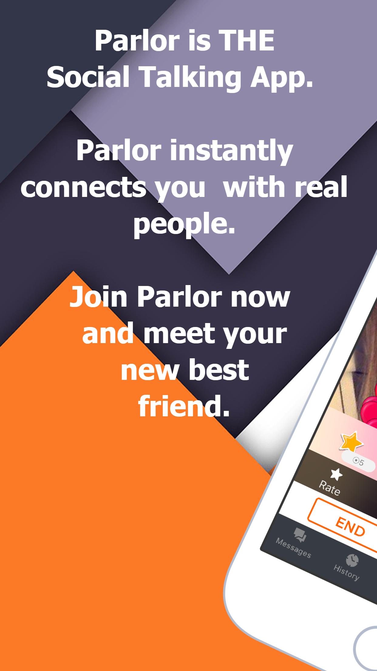 Parlor: The Social Talking App Screenshot