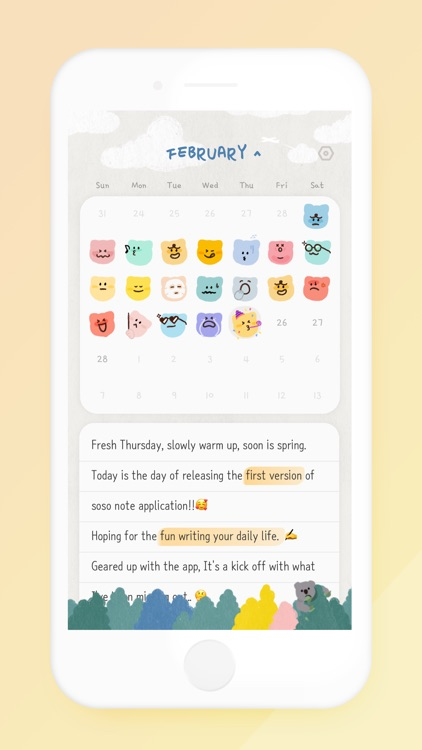 soso note - daily journal