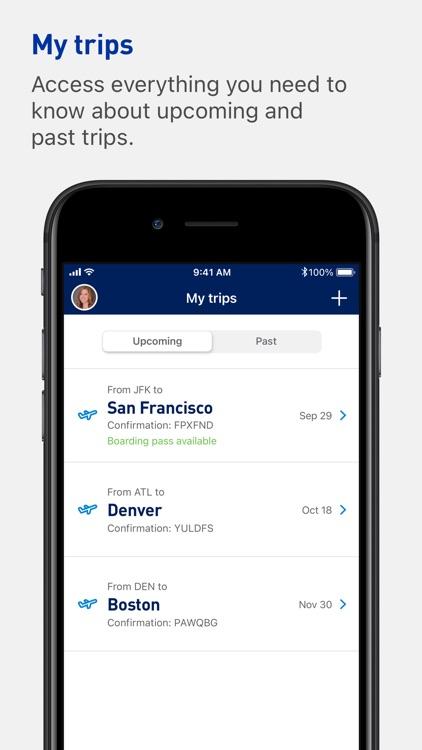 JetBlue - Book & manage trips screenshot-3