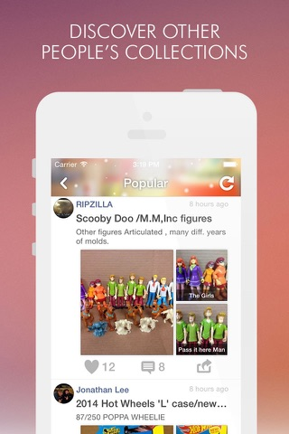 Collectibles Amino for Toys - náhled