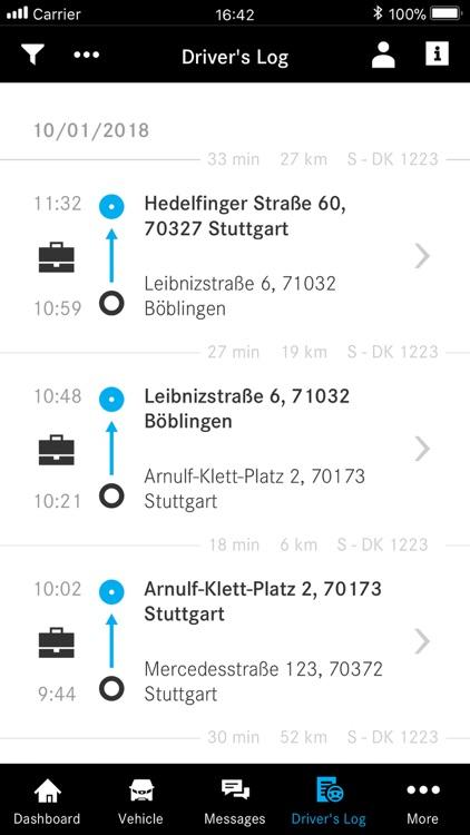 Mercedes PRO connect app