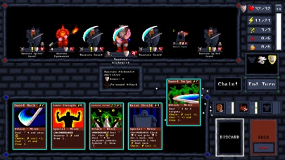 Screenshot 3 Card Quest - Card Combat Game