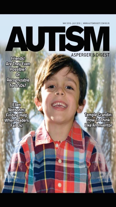Autism Asperger's Digest screenshot one