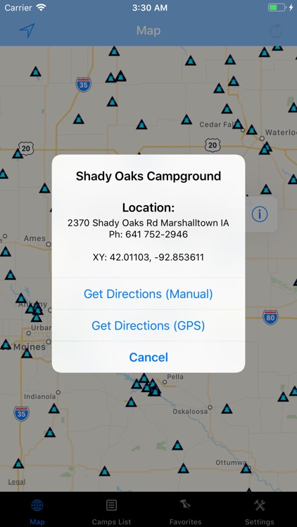 Iowa – Camping & RV spots screenshot-1