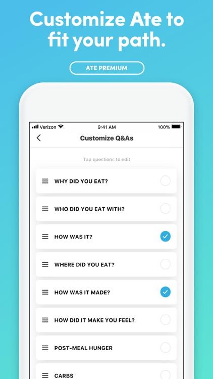 Ate Food Diary + Habit Tracker screenshot-8