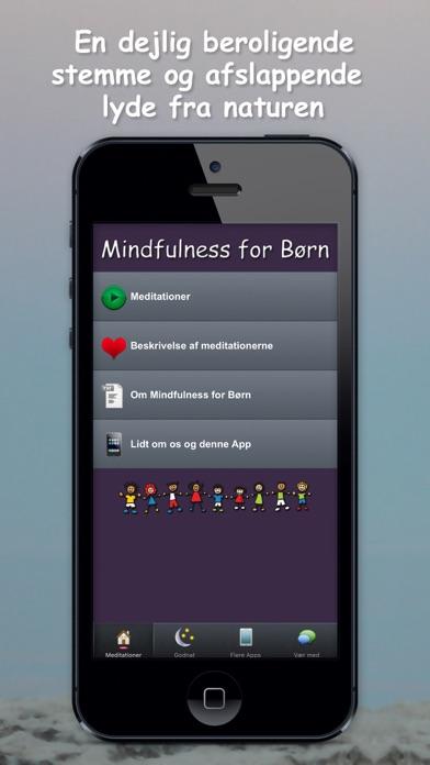 Screenshot for Mindfulness for Børn in Denmark App Store