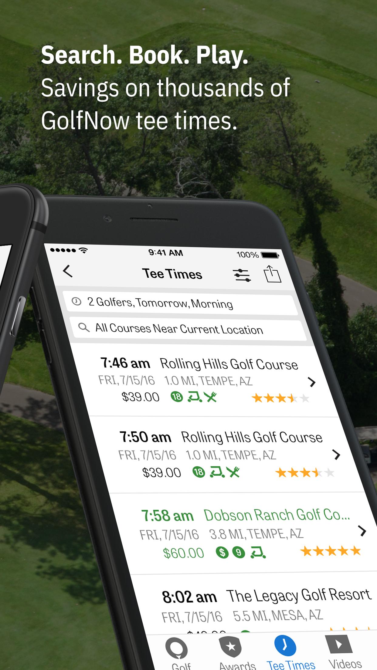 Golfshot: Golf GPS + AR Screenshot