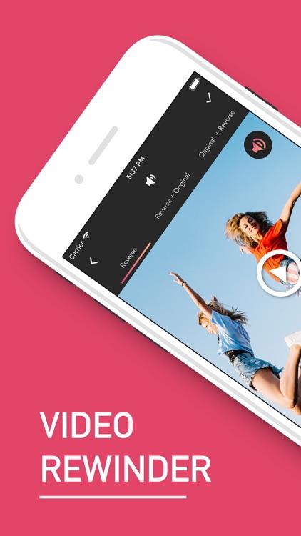 Reverse : Video & Audio Editor screenshot-0