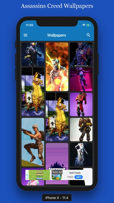 Gaming Wallpapers For Fortnite Free Iphone Ipad App Market