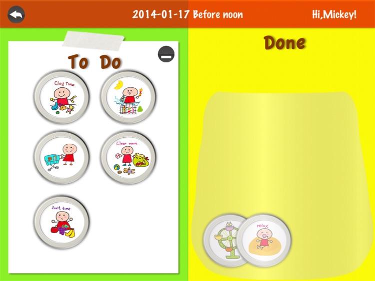 Kids schedule & Kids todo list screenshot-4