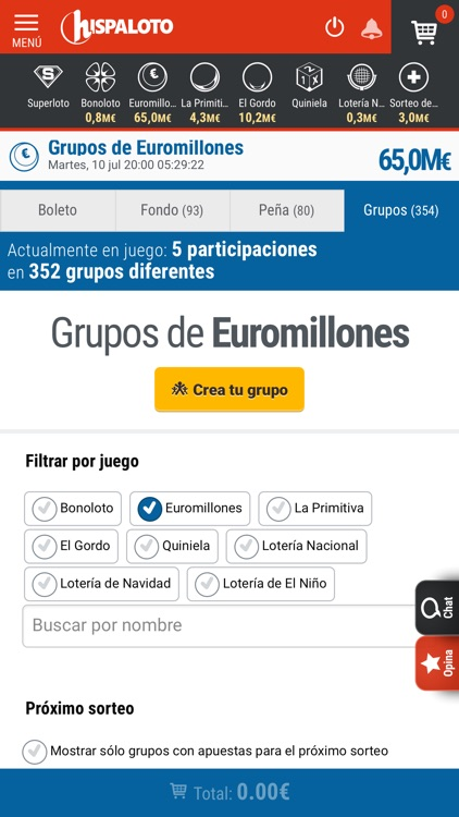 Hispaloto: Loterías y Apuestas screenshot-5
