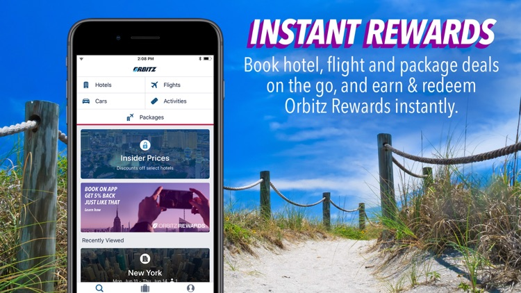 Orbitz Flight, Hotel, Packages screenshot-0