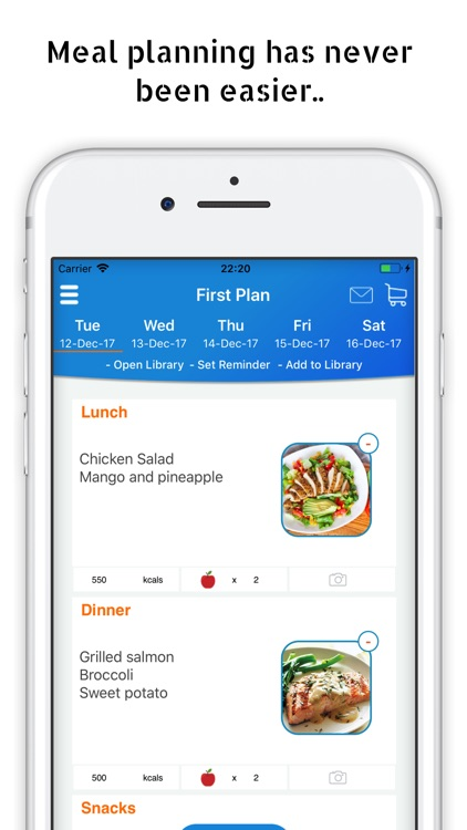Meal Planner Pal screenshot-0