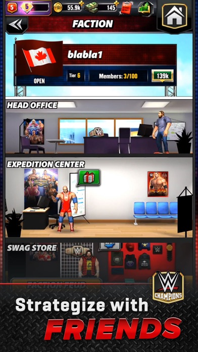 WWE Champions - Puzzle Game screenshot 6