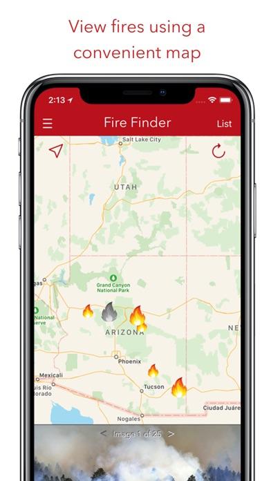 Fire Finder - Wildfire Info Screenshot