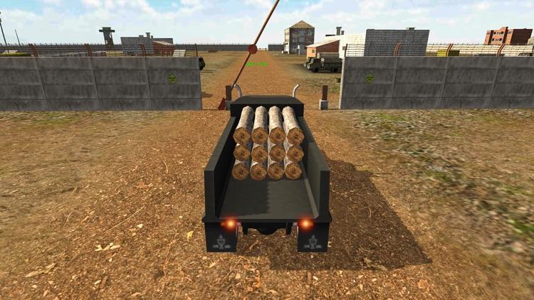 Army Cargo Truck Transporter screenshot-7
