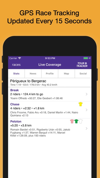 Tour Tracker Grand Tours screenshot-0