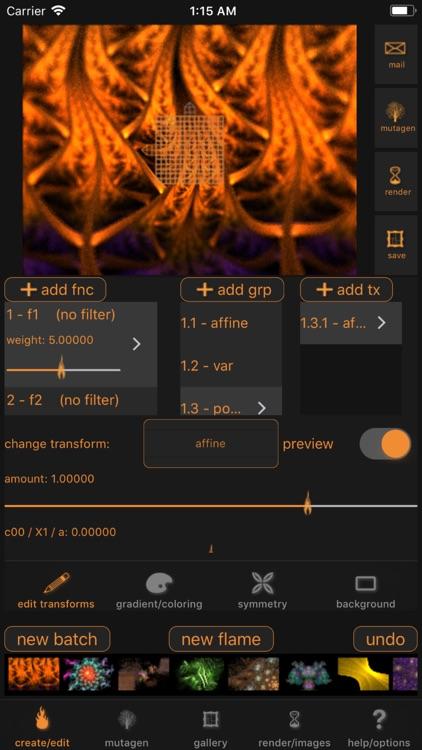 Flamelet screenshot-0