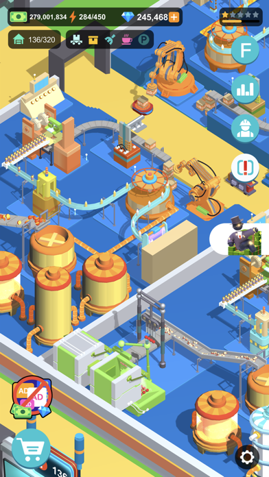 Super Factory-Tycoon Game free Diamonds hack