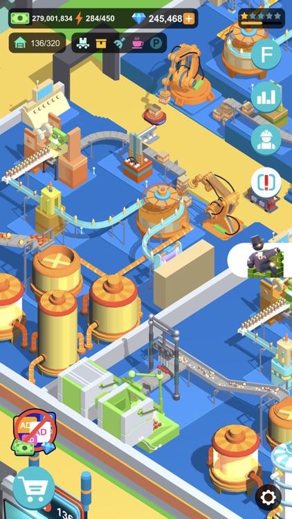 Super Factory-Tycoon Game screenshot-0