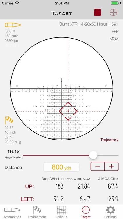 SBC - Ballistic calculator screenshot-7