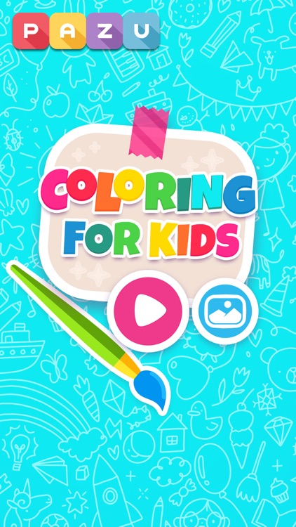 Coloring games - for toddlers