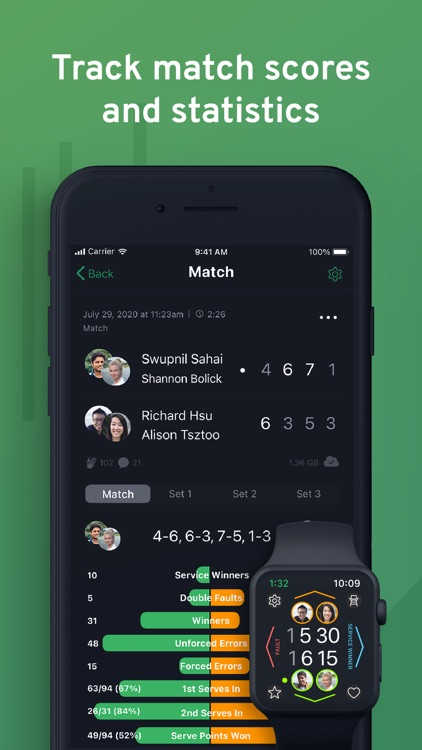 SwingVision: A.I. Tennis App screenshot-3