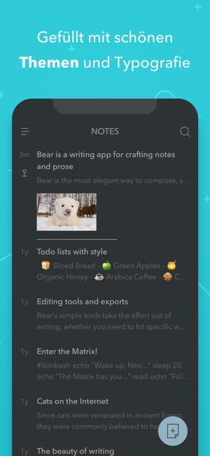 Bear Writer Screenshot