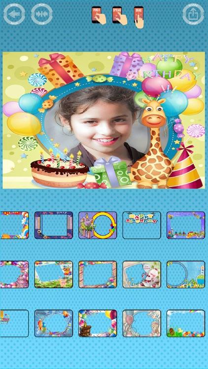 Happy birthday photos frames screenshot-5