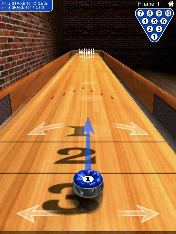 Ipad Screen Shot 10 Pin Shuffle Bowling 2