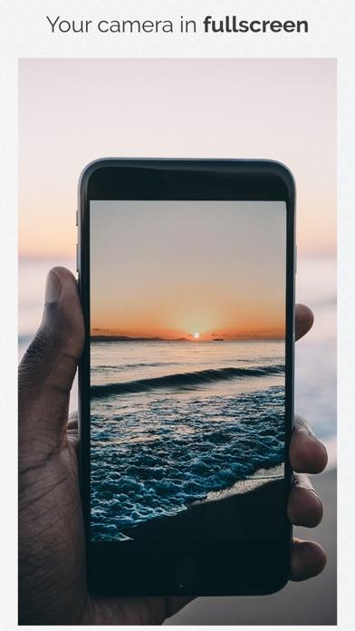Fullscreen Video Camera Screenshots