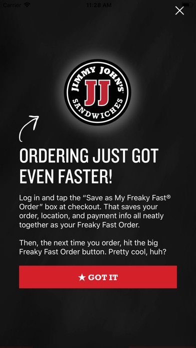 Jimmy John's Sandwiches for Windows