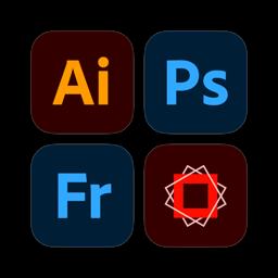 Ícone do app Pacote Adobe Design Mobile