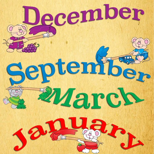 Months of the year icon