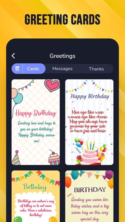 Birthday Cards - Video Maker screenshot-5