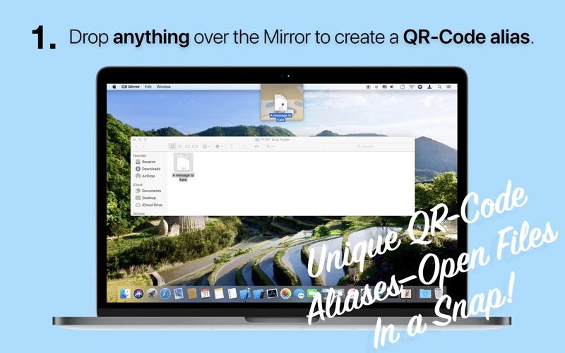 QR Mirror screenshot 1