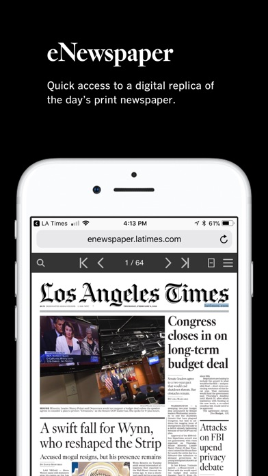 La Times review screenshots