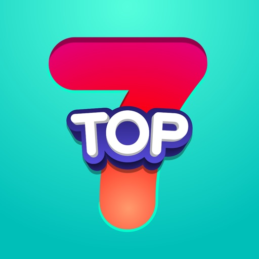 Top 7 - family word game