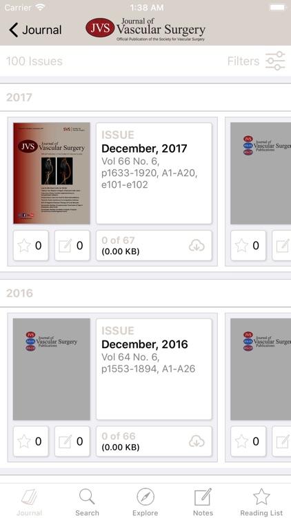 Journal of Vascular Surgery screenshot-3
