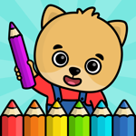 Barnspel - målar spel för barn на пк