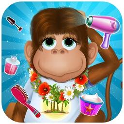 Monkey Hair Salon & Dress up