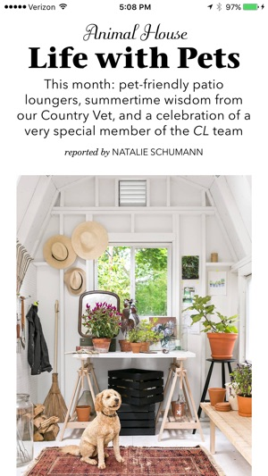 Living Magazine country living magazine us on the app store